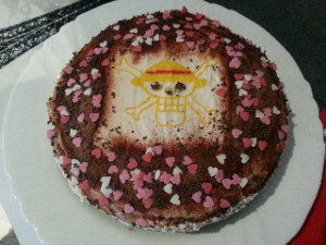 receta tarta one piece