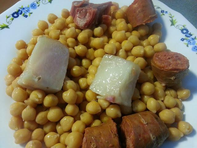 como hacer cocido madrileño