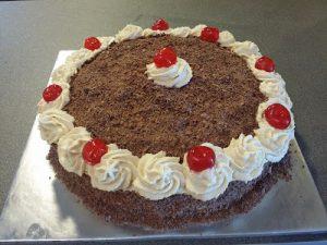 receta tarta selva negra
