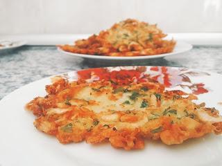tortillitas de camarones