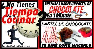PASTEL DE CHOCOLATE EXPRES