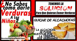 QUICHE DE ALCACHOFAS QUICHE DE VERDURAS