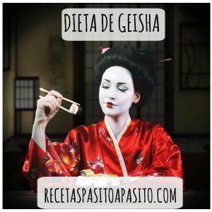 DIETA DE GEISHA