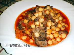 GARBANZOS CON CARRILLERA